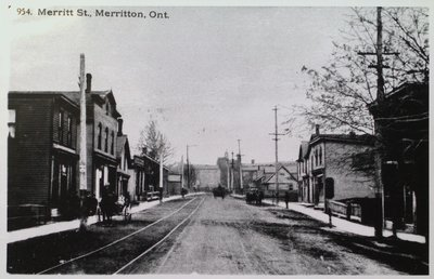 NS&T rail track on Merritt St.