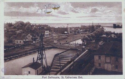 Port Dalhousie & Lock 1 of the Second Welland Canal