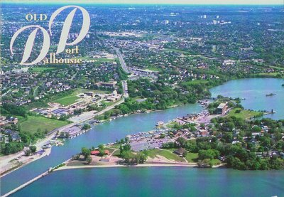 Aerial View of Old Port Dalhousie
