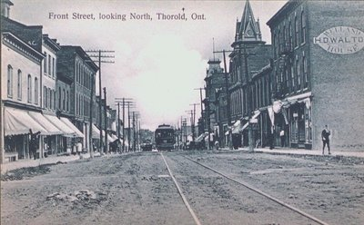 Front Street Looking North, Thorold