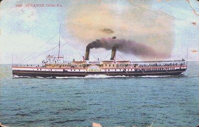 "The Steamer ""Corona"""