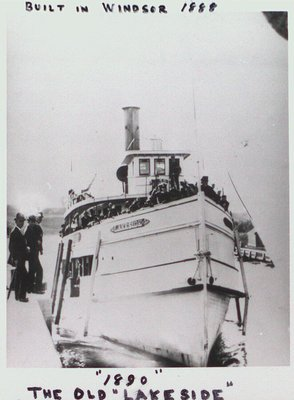 "The Steamer ""Lakeside"""