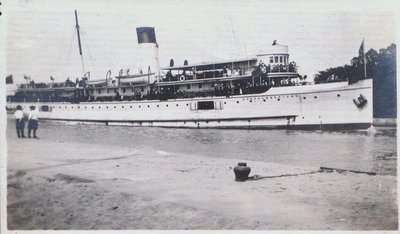 "The Steamer ""Northumberland"""