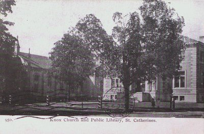 Knox Church and The Public (Carnegie) Library