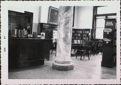 The Interior of the Public (Carnegie) Library