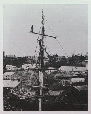 "The Mast of the Barquetine ""Valetta"""
