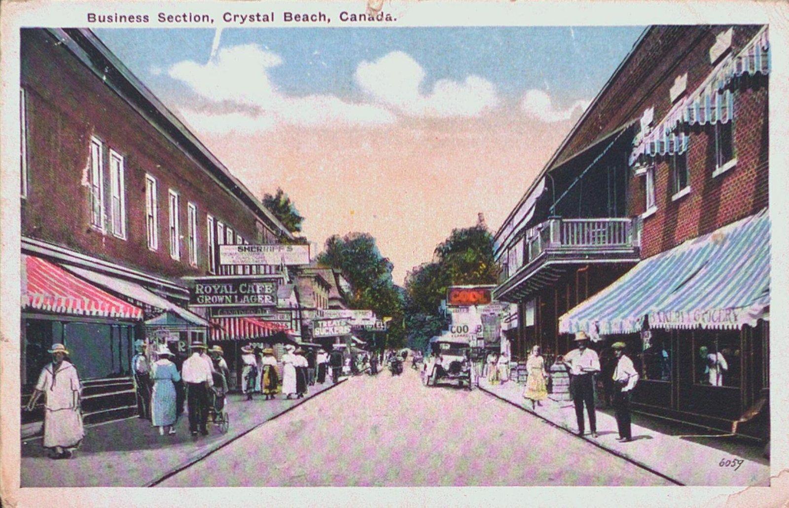 Business Section, Crystal Beach