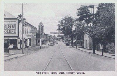 Main Street Grimsby Looking West
