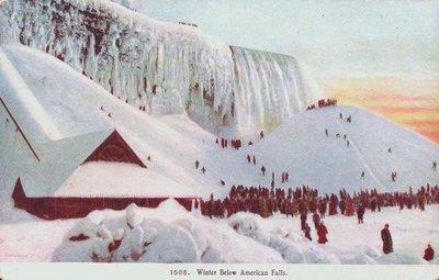 Niagara Falls-The American Falls in Winter