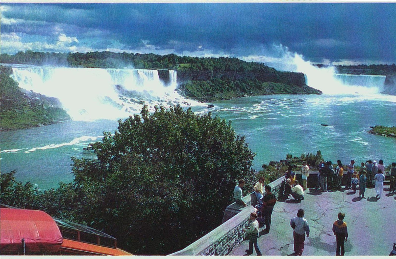Niagara Falls-The American & Horseshoe Falls