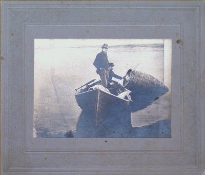 Annie Edson Taylor Being Pulled from her Barrel