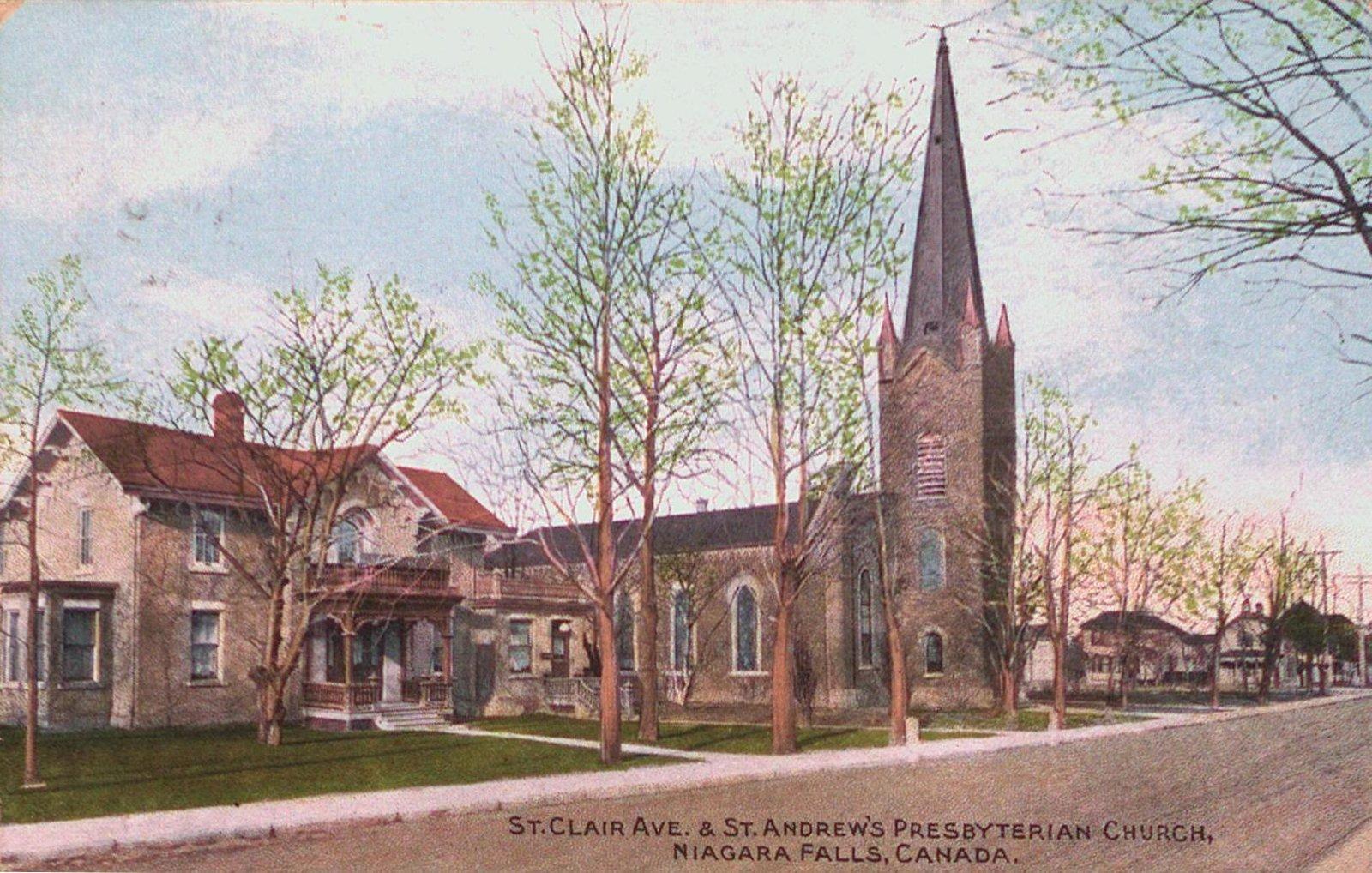 St. Clair Avenue & St. Andrew's Presbyterian Church, Niagara Falls