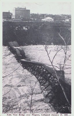 The Falls View Bridge after its Collapse