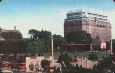 The Sheraton Brock Hotel and Oakes Garden Theatre, Niagara Falls