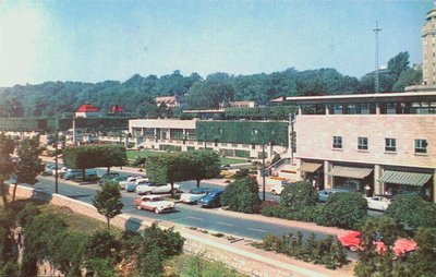 Oakes Garden Theatre and the Rainbow Bridge Shopping Plazza