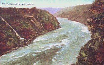 Lower Niagara Gorge and Rapids, Niagara Falls
