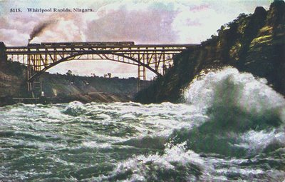 The Whirlpool Rapids and Steel Bridge