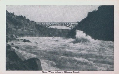 Giant Wave in the Lower Niagara Rapids, Niagara Falls
