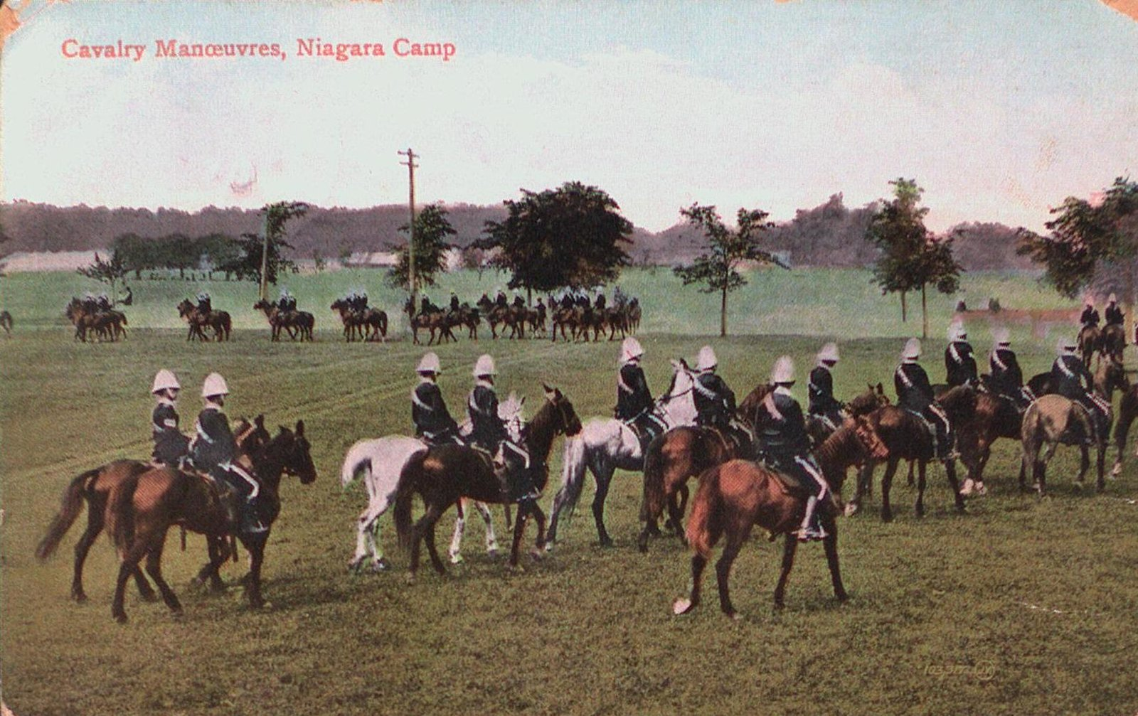 Cavalry Manoeuvers, Camp Niagara, Niagara-on-the-Lake