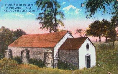 The Powder Magazine at Fort George, Niagara-on-the-Lake
