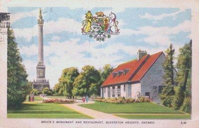 Brock's Monument & Restaurant, Queenston Heights