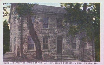 MacKenzie Printery, Queenston