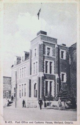Post Office and Customs House, Welland