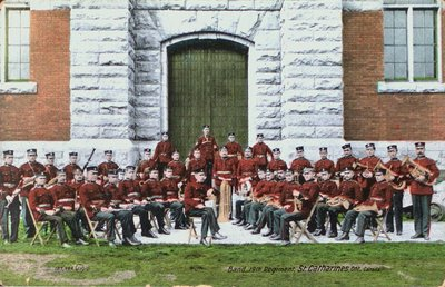 The Band of the 19th Regiment, St. Catharines