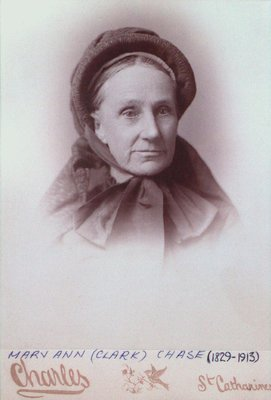 A Portrait of Mary Ann (Clark) Chase