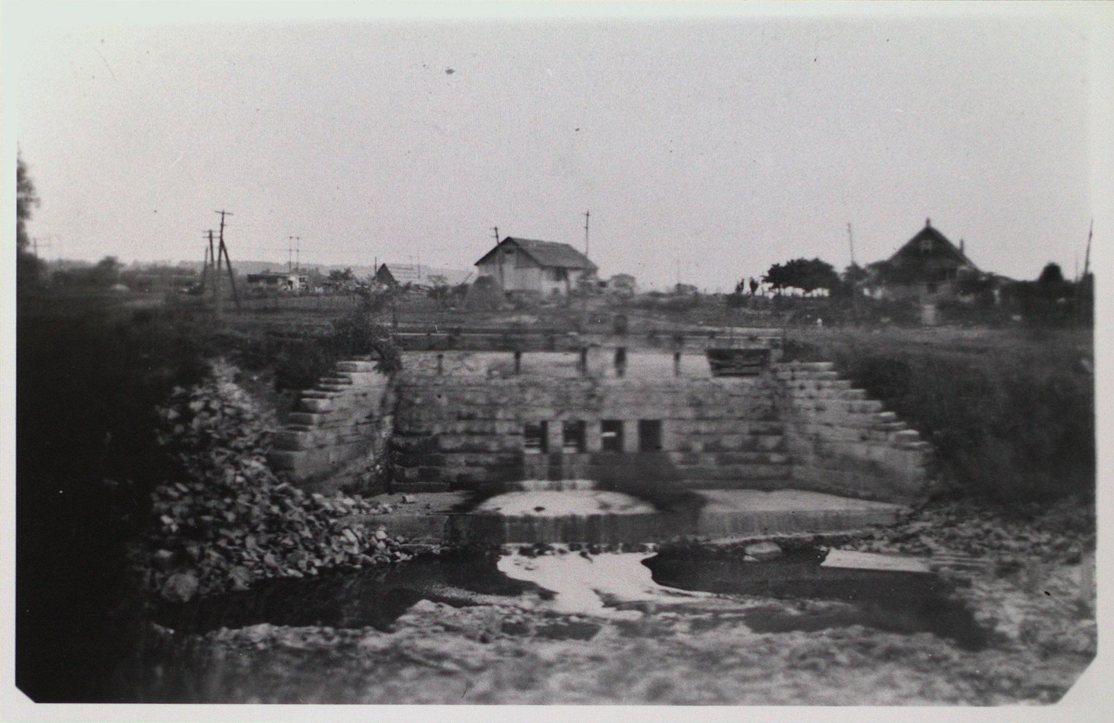 The Closing Off of the Second Welland Canal at Protestant Hill