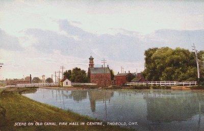 Scene on the Old Welland Canal in Thorold