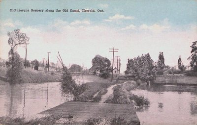 Picturesque Scenery Along the Old Canal, Thorold