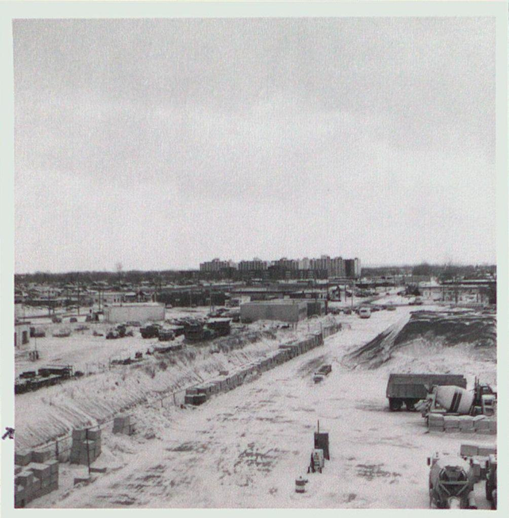 The Fill Line of the Third Welland Canal