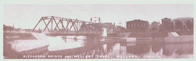 The Alexandra Bridge over the Third Welland Canal