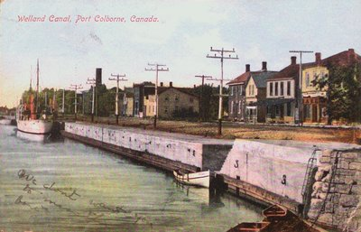 Welland Canal in Port Colbourne