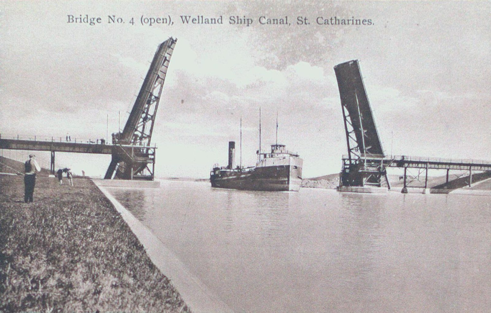 The Homer Lift Bridge on the Welland Ship Canal