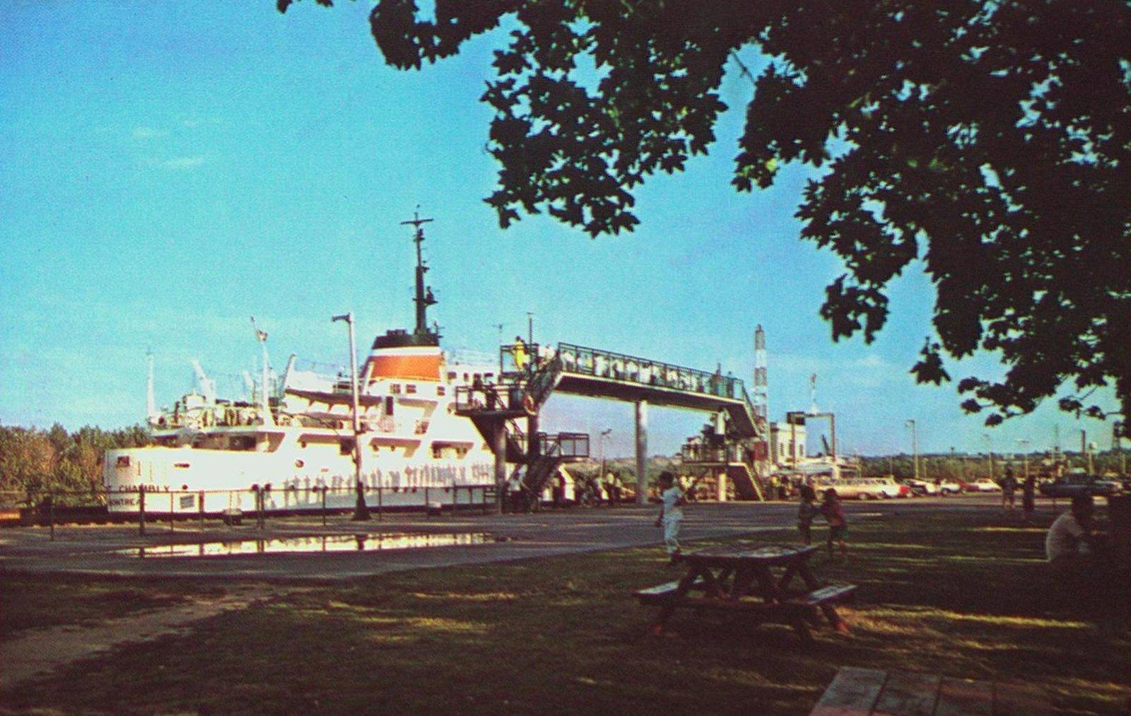 Lock Three of the Welland Ship Canal