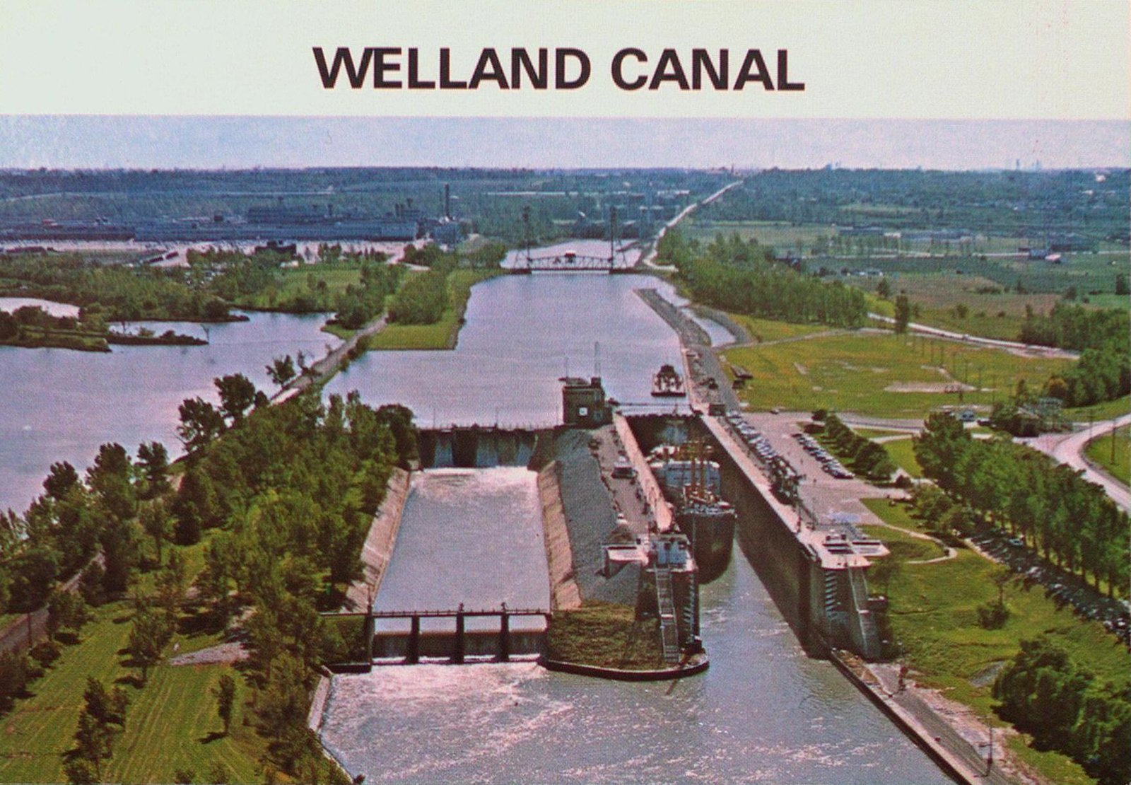 Lock Three on the Welland Ship Canal