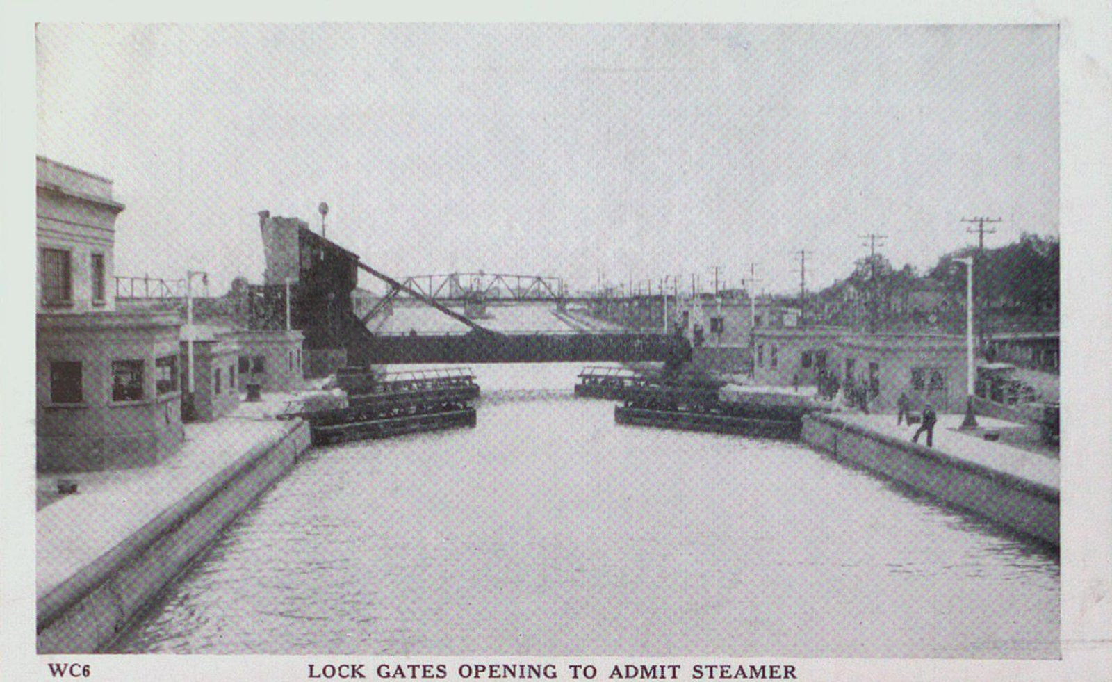 A Lock on the Welland Ship Canal
