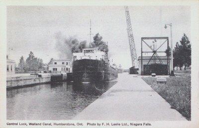 Control Lock (Lock Eight) on the Welland Ship Canal
