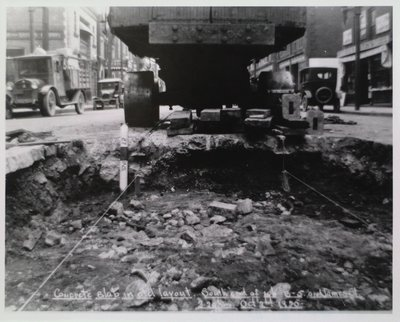 Railway Construction at James Street