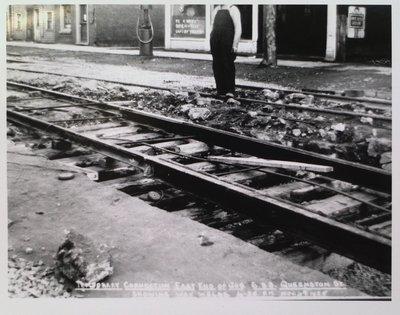 Railway Construction at Queenston Street