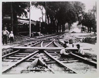 Railway Construction at Geneva Street and Welland Avenue