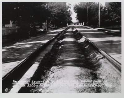 Railway Construction at Ontario Street