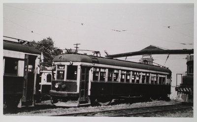 NS&T Car #61 in the Welland Avenue Rail Yard