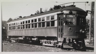 NS&T Car #80 in the Welland Avenue Rail Yard