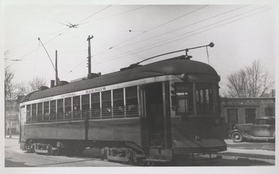 NS&T Car #320 on a Port Dalhousie Line