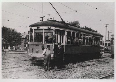 NS&T Suburban Car #324 at the Welland Avenue Rail Yard