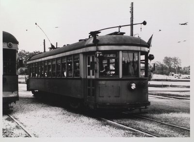 NS&T Car #327 on a Port Dalhousie Line