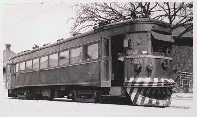 NS&T Interurban Car #623